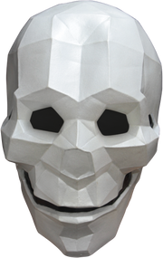 Low Poly Skull Image