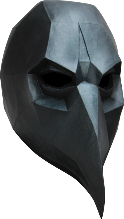 Low Poly Crow Image