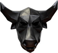 Low Poly Bull Image