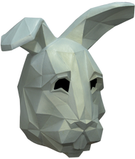 Low Poly Bunny Image