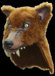 Brown Wolf Helmet Image