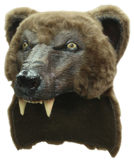 Brown Bear Helmet Image