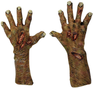 Zombie Undead Large Gloves Image