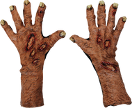Zombie Flesh Large Gloves Image
