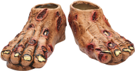 Zombie Flesh Feet Image