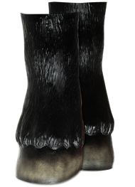 Horse Hooves Black Image
