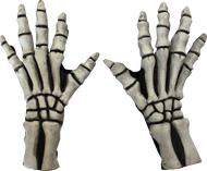 Skeleton Large Gloves (White) Image