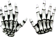 Junior Skeleton Hands (White) Image