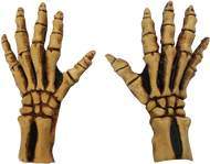 Skeleton Large Gloves (Tan) Image