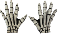 Skeleton Gloves (White) Image