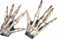 Large Skeleton Hands Bone-colored Image
