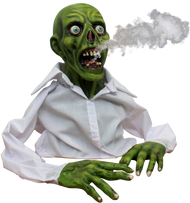 Green Zombie Display Image