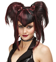WIG BAD FAIRY BLACK RED