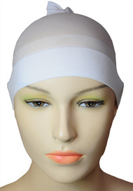 WIG STOCKING CAP WHITE