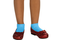 WIZARD OF OZ RUBY CHILD SLIPPE