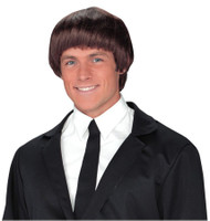 60S BAND MEMBER BROWN WIG