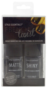 FINGER NAIL POLISH FRENCH TWIS