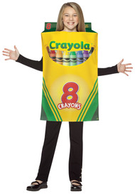 CRAYOLA CRAYON BOX CHILD 7-10