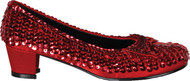SHOE SEQUIN RD CHILD LG