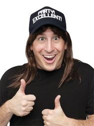 SNL WAYNE EXCELLENT WIG/HAT