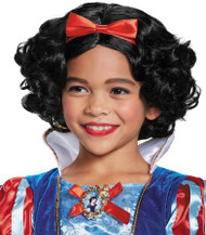 SNOW WHITE DLX CHILD WIG