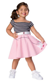 50S GIRL COSTUME TODDLER