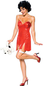 BETTY BOOP DLX SHORT DRESS MD
