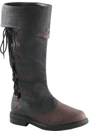 CAPTAIN BOOT 110 BR SM LACE-UP