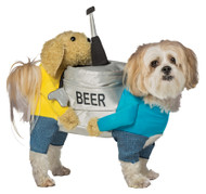 DOG BEER KEG SMALL MEDIUM