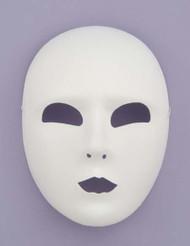 FULL FACE WHITE MASK