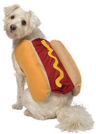 HOT DOG DOG COSTUME SMALL