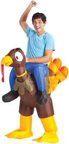 INFLATE TURKEY RIDER ADULT