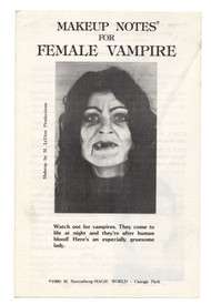 MAKEUP NOTE FEM VAMPIRE