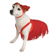 PET COSTUME FLAPPER SMALL