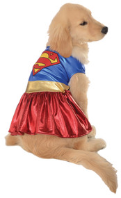 PET COSTUME SUPERGIRL XLG