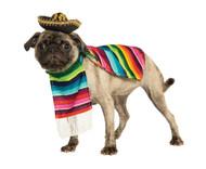 PET MEXICAN PONCHO/SOMBRERO MD