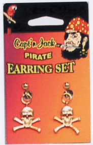 PIRATE EARRING SET