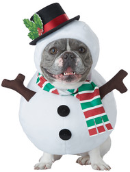 SNOWMAN DOG LG