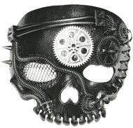 STEAM PUNK MASK-NO JAW SKELETO