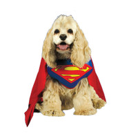 SUPERMAN PET COSTUME LARGE