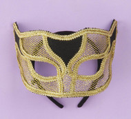 VEN MASK NETTED GOLD