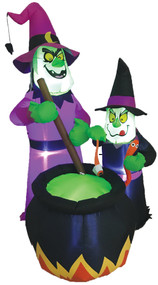WITCHES BREW INFLATABLE W LED