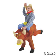 BULL RIDER KIDS INFLATABLE Front View