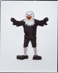 EAGLE MASCOT COMPLETE Front View