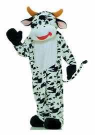 MOO COW MASCOT Front View