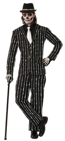 BONE PIN STRIPE SUIT STD