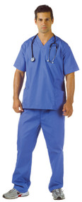 BLUE SCRUBS ADULT (42-44)