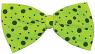 BOW TIE JUMBO NEON LIME GREEN
