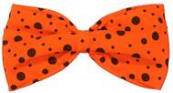 BOW TIE JUMBO NEON ORANGE