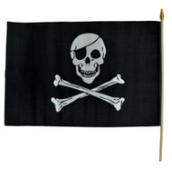 FLAG PLSTC PIRATE 1flag=1 UNIT